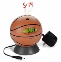 Digiview Basketball Projection Clock - Official Gift of Relatives Who Don't Give a &@#!