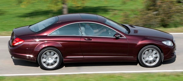 Mercedes-Benz CL500 4MATIC, For Those Ski Trips In The Swiss Alps