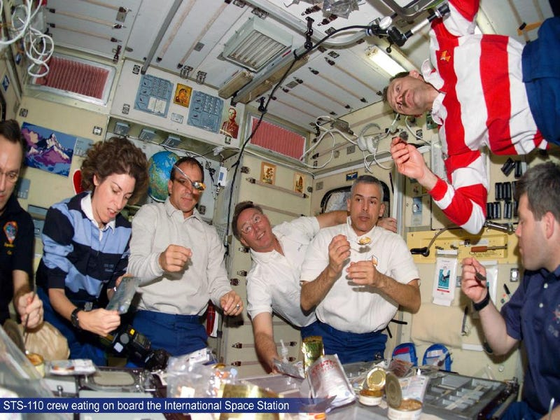 ¿Qué comen los astronautas?
