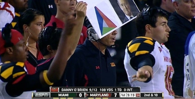 Maryland's Play-Calling Last Night Was Even More Unsightly Than Its Uniforms