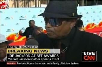 Watch Joe Jackson Stoically Use His Son's Death to Plug a DVD