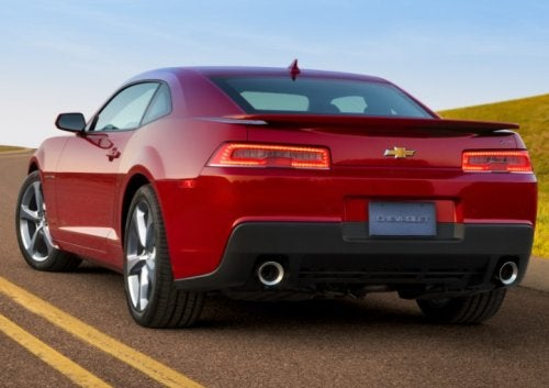 2013 v 2014 Camaro Rear End