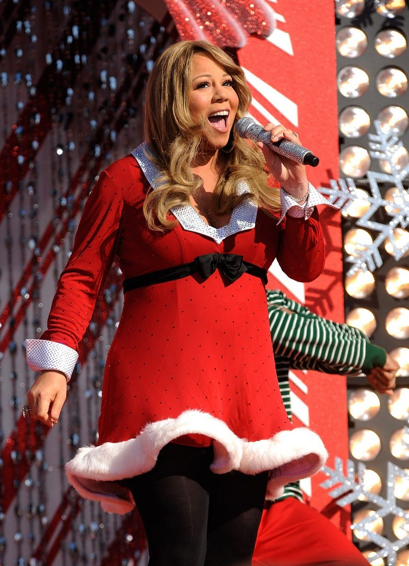 Chanteuse Introduces Sexy Pregnant Mrs. Claus Into The Holiday Lexicon