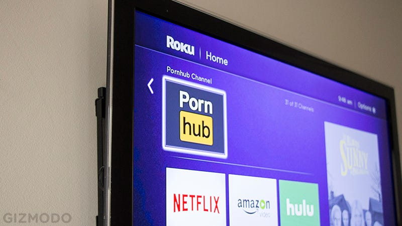 PornHub Just Launched a Free App for Set-Top Boxes and It Is Weird