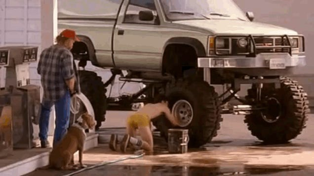 The Ten Weirdest Car Washes