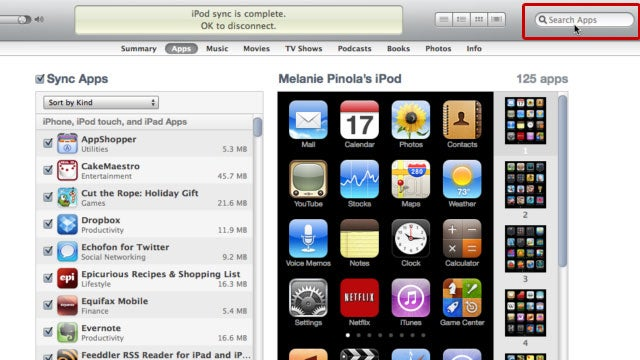 Use iTunes Search for Easier iPhone and iPad App Organization