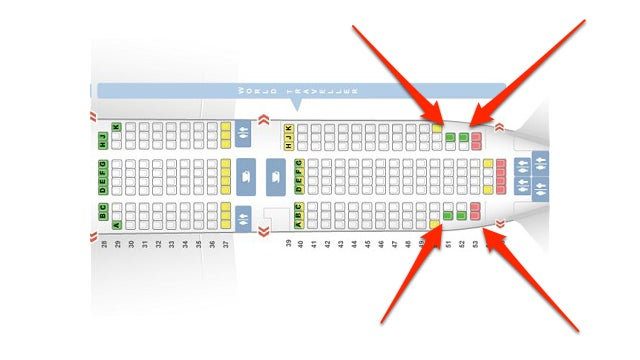 The Most Popular Seats on an Airplane Are At the Very Back