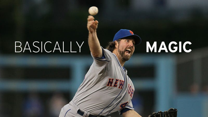Everything You Need to Know About R.A. Dickey, the Man Who Throws Baseball's Best and Strangest Pitch