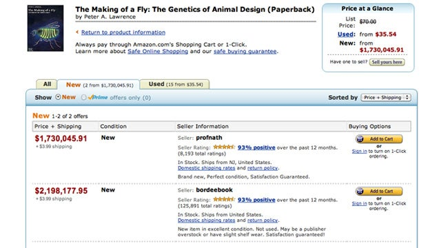Why Amazon Charged $23,698,655.93 for a Genetics Textbook