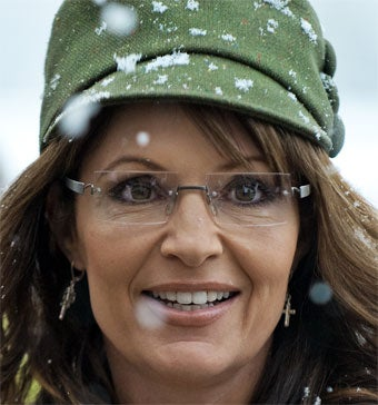 Sarah Palin, Booze Babe •Serial Nudist Refuses To Cover Up