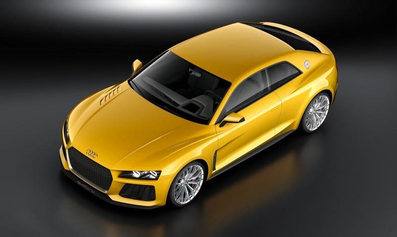 Audi Sport Quattro Concept Will Unfortunately Not Eat Your Children