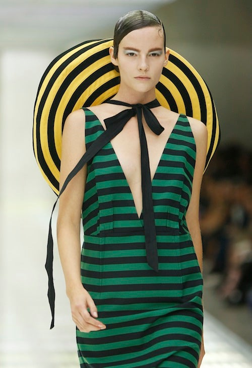 Prada Spring 2011: For The Lorax-Loving Dr. Seuss Enthusiast In You