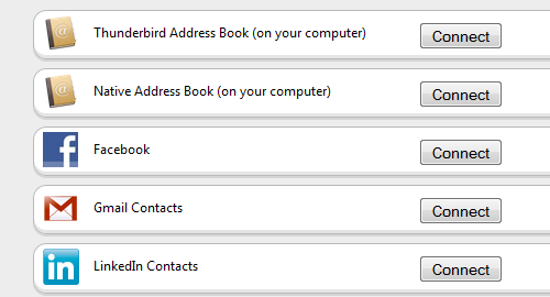 Contacts Add-On Brings Your Web Address Books into Thunderbird