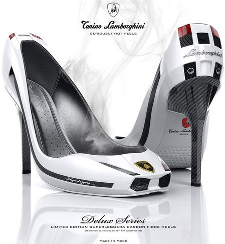 Lamborghini Shoes Are Not Made for Walking