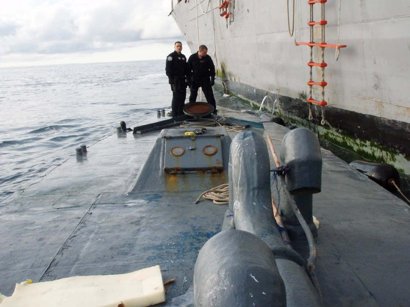 The Rise of the Drug-Running Remote-Controlled Semi-Submarines