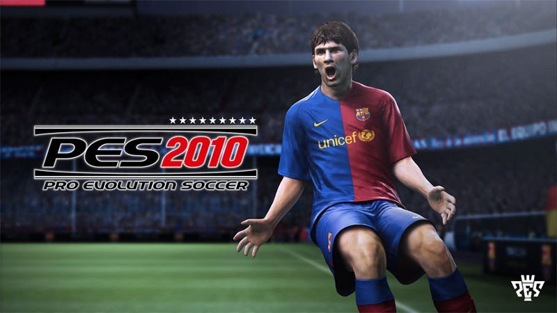 The Pro Evolution Soccer Carousel Spins Around To 2010