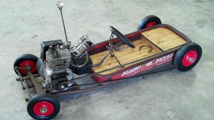 The best sketchiest wagon ever...
