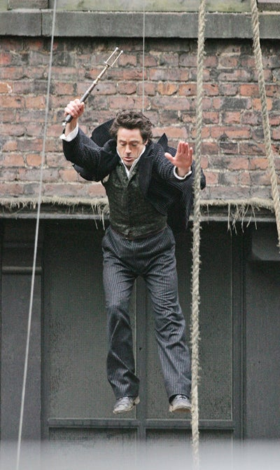 Robert Downey Jr. In Flight! Afternoon Delight!