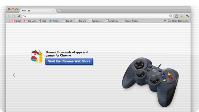 Google's Chrome Browser Will Soon be Controlled by Gamepads