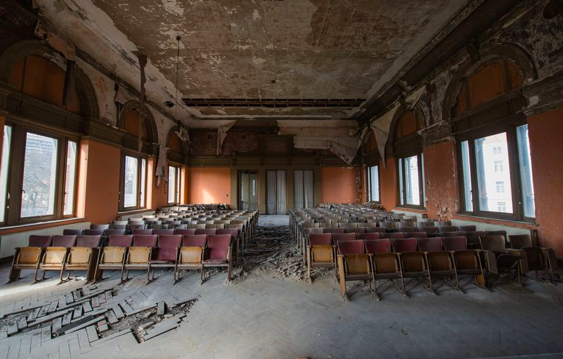 An abandoned veterinary school looks like the most terrifying place
