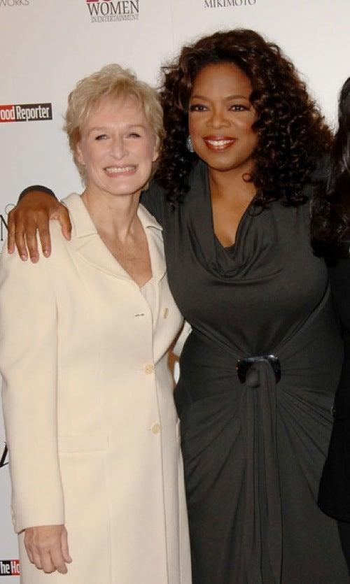 Oprah And Glenn Get Close