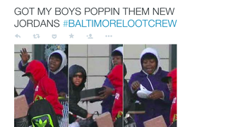 Internet Racists Are Pretending to Be Black Looters in Baltimore