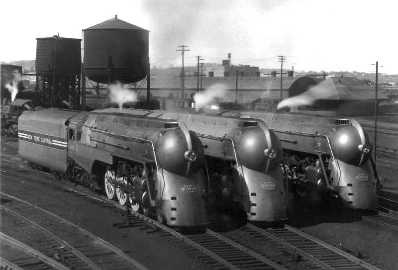 The Zeppelin Train, The Aerotrain And Other Classic ... Henry Dreyfuss Train