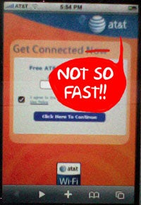 Rumor Smashed: AT&T Free Wi-Fi for iPhones Isn't Live Yet