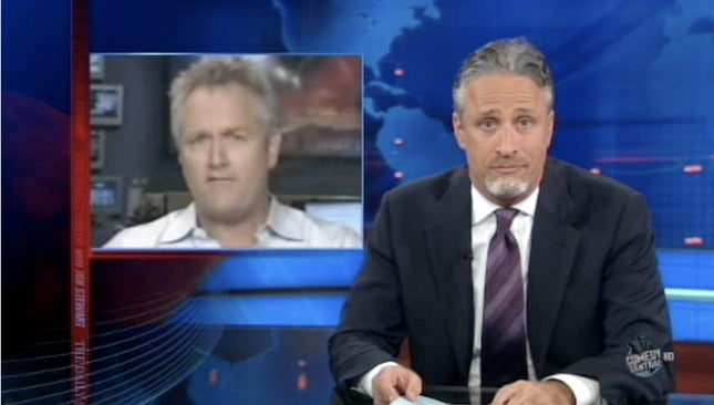 Jon Stewart Unveils New Facial Hair