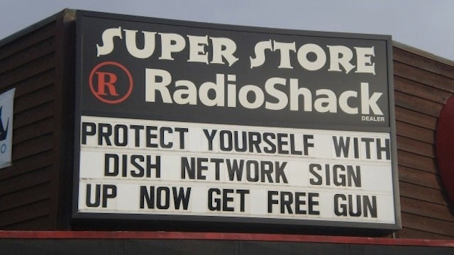Sign Up for Dish Network, Get a Free Gun