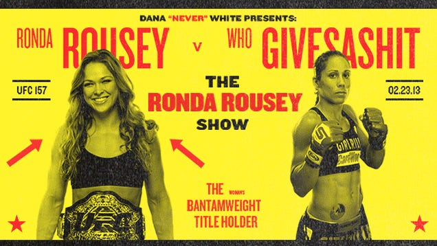 Ronda Rousey, Bro Queen: Why Is The UFC So Stupid About Women?