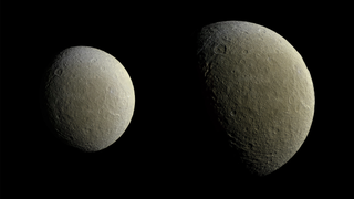 Stunning New Images Of Rhea Herald More Photos Of Saturn's Icy Moons