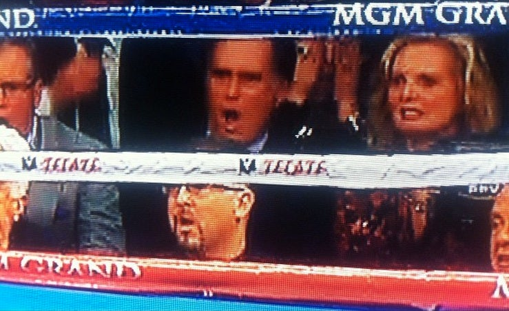 Look at Mitt and Ann Romney Watch Manny Pacquiao Get Knocked Out
