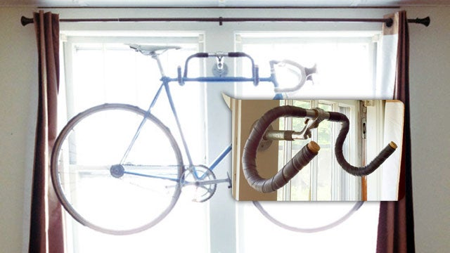 Make a Quick and Easy Bike Rack Using Old Bike Parts