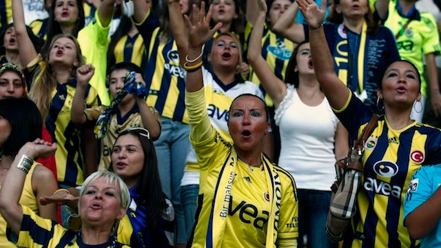 Turkish Soccer Team Plays For Only Women And Children
