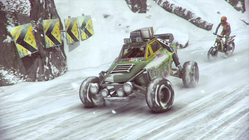 First Trailer And Screens For MotorStorm: Arctic Edge
