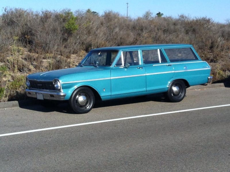 This Chevy Nova Wagon Is A Teal Sleeper And I Want It Badly