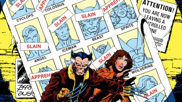 Proof that the X-Men have the crappiest lives of any fictional characters