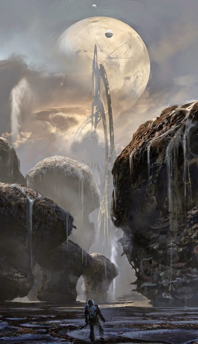The Concept Art That Created Guardians of the Galaxy's Cosmic Locations