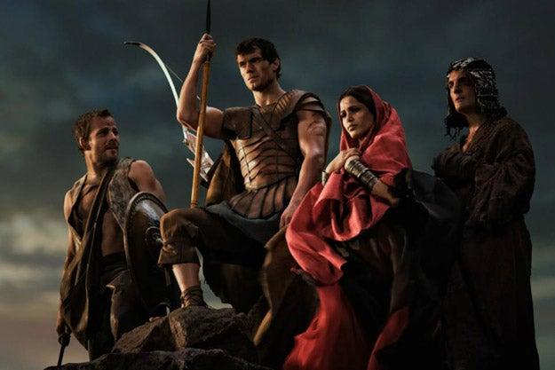 Tarsem Singh's Immortals promo pics