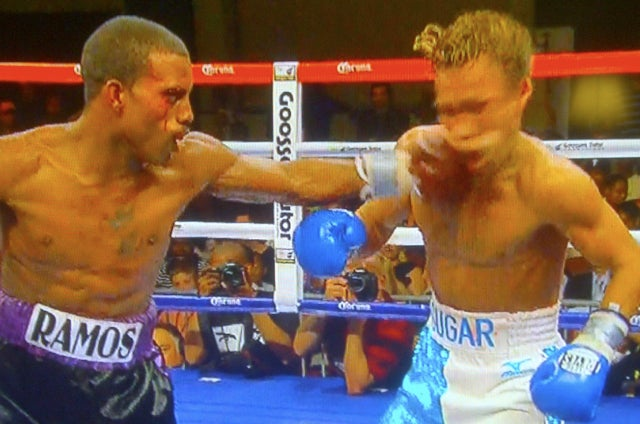 Watch A Boxer Who Was Well Ahead On The Scorecards Get Dropped With A Single Punch