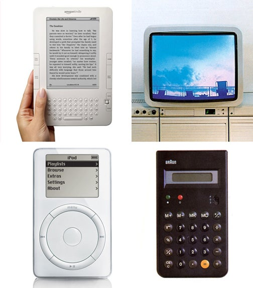 Does the Kindle 2 Pass the Apple/Braun Design Test?