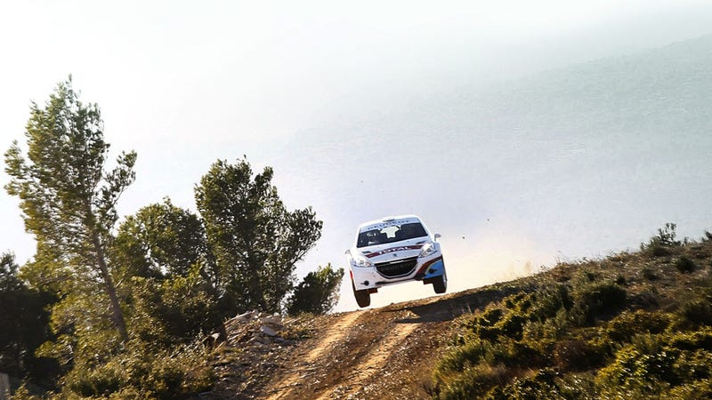 Peugeot's New Rally Car Is Dirty And French