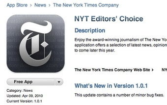 Steve Jobs' Big New York Times Letdown