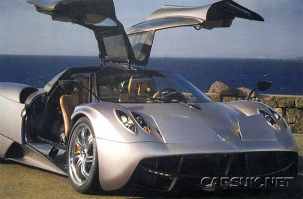 The Pagani Huayra Couldn't Possibly Be This Hideous