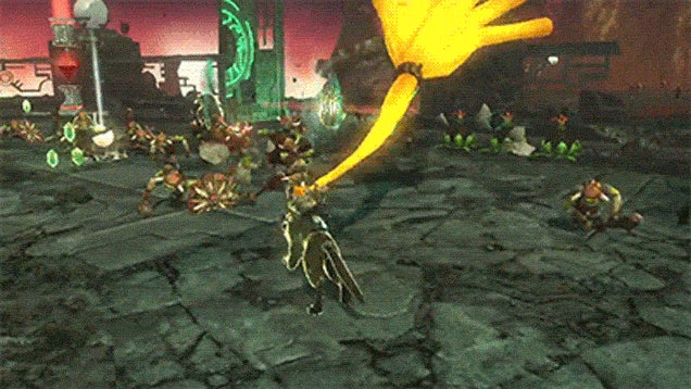 Hyrule Warriors Looks Like Zelda On Steroids