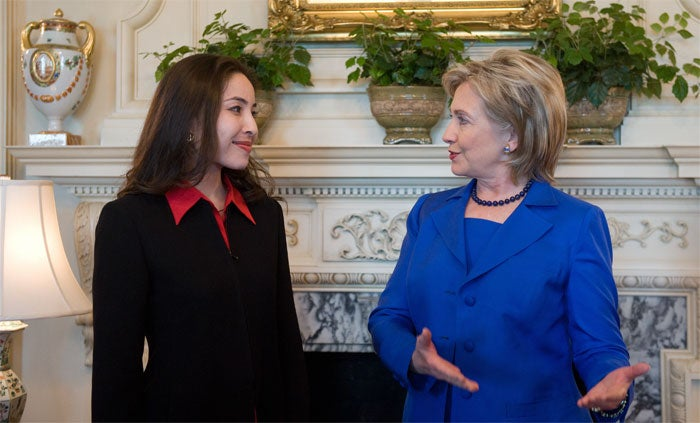 Hillary Shows The Way To San Jose