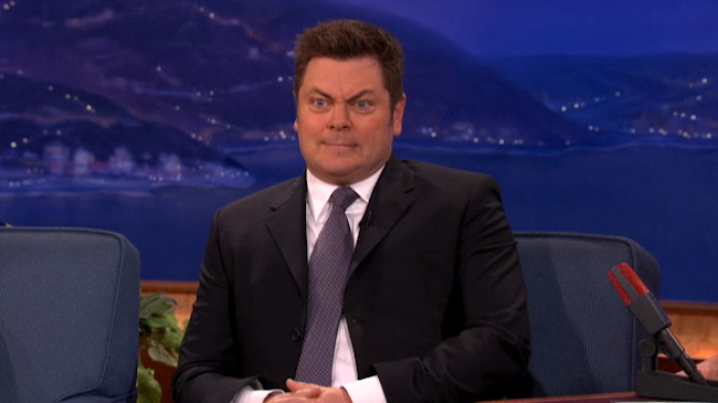 We Just Saw Ron Swanson Without a Mustache and We Liked It