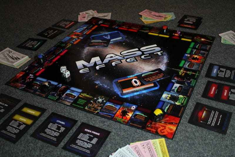 Mass Effect Monopoly is my Favourite...You Get the Idea