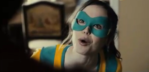 In this new clip from Super, Rainn Wilson and Ellen Page screw up superheroics